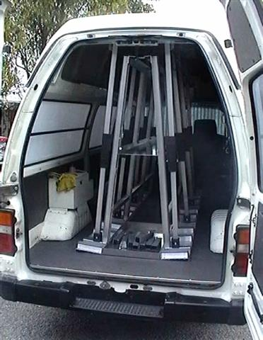 The glass racking company canada internal glass racks - Prieel frame van ...