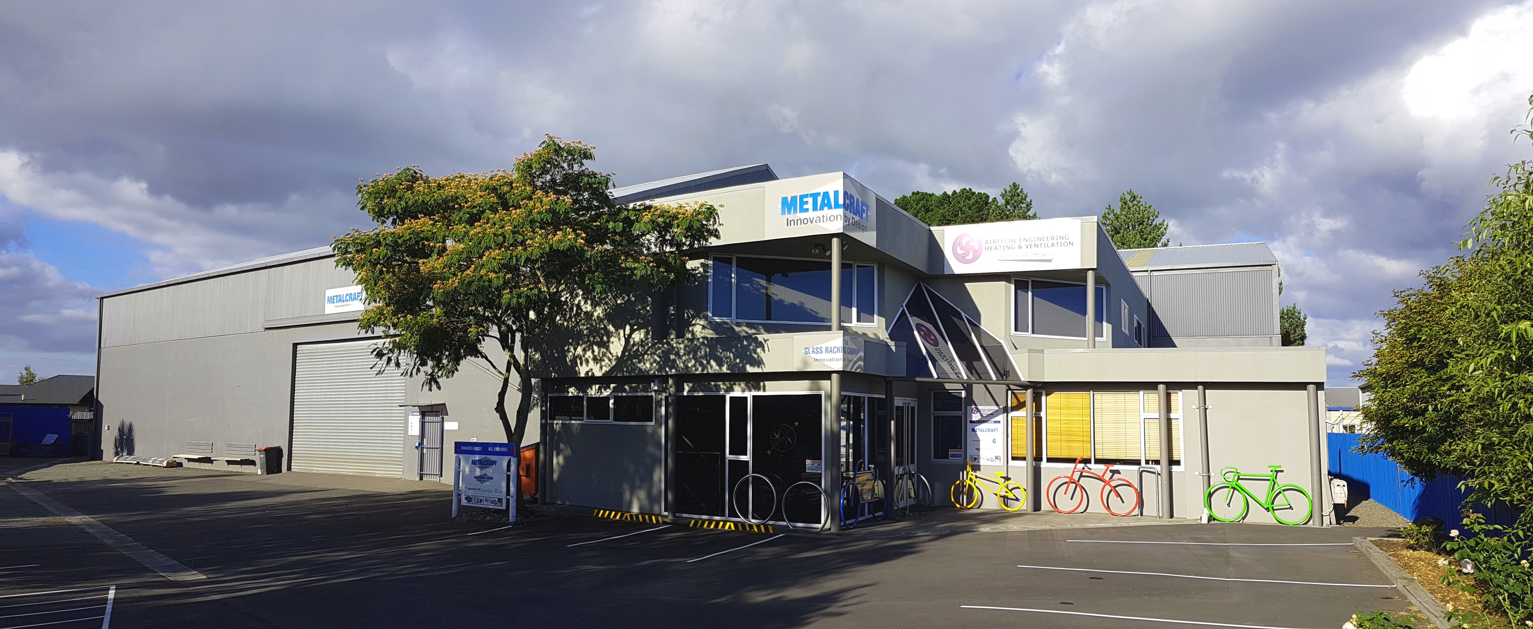 Metalcraft Engineering Christchurch Premises Location