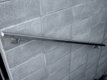Wall mounted handrail stainless steel stair
