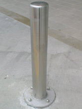 Metalcraft Engineering bollards made in Christchurch