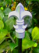 Iron work arrow raw garden stake Christchurch garden art