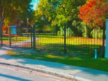 Park fence and gate Christchurch Metalcraft Engineering