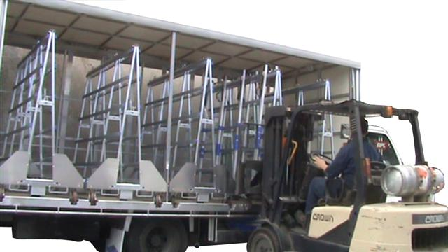 The Glass Racking Company Large Glass Truck And Trailers