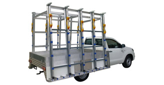 Glass Ute rack
